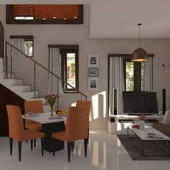 Rumah Bima:  Ruang Keluarga by aradigma