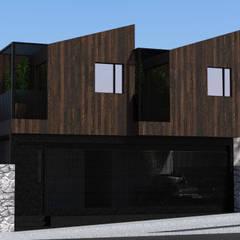 Depas MAG: Condominios de estilo  por Cuevas Arquitectura