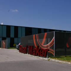 Seal Maker Firmenzentrale:  Bürogebäude von LOSTINARCHITECTURE