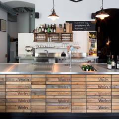 Wienhandlung - Weinlokal:  Gastronomie von LOSTINARCHITECTURE