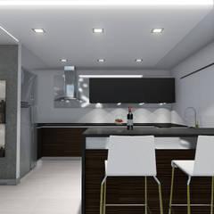 COCINA: Muebles de cocinas de estilo  por ACCAANACARRERO