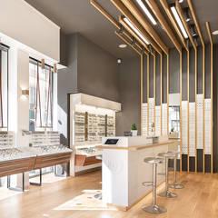 Boutique Krys Lyon 2: Locaux commerciaux & Magasins de style  par A MI-BOIS