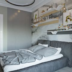 Small bedroom by MBM studio
