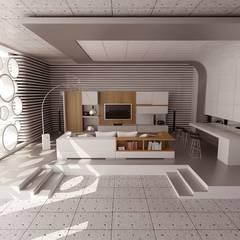 ŞEBNEM MIZRAK  – Bodrum Ev Tasarımı / Ofis:  tarz Çalışma Odası