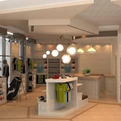 ŞEBNEM MIZRAK  – Bakü Pro-shop Mağaza Tasarımı:  tarz Alışveriş Merkezleri