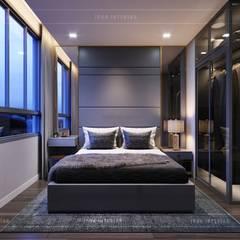 ห้องนอน โดย ICON INTERIOR, โมเดิร์น