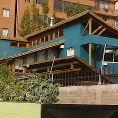 Casas prefabricadas de estilo  por eco cero - Arquitectura sustentable en Talca