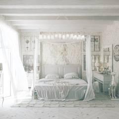 Chambre en Provence : Спальни в . Автор – Борис Ступак