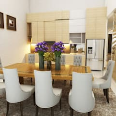 Dining room by Arsitekpedia