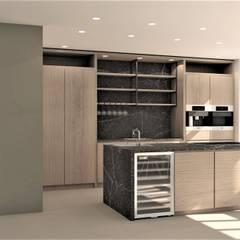 Ontwerp nieuwbouw woning Amersfoort Moderne keukens van Studio DEEVIS Modern Marmer