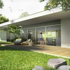 منزل عائلي صغير تنفيذ SMF Arquitectos  /  Juan Martín Flores, Enrique Speroni, Gabriel Martinez