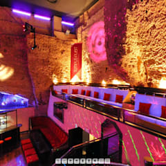 Disco Club Restaurant in Mallorca:  Bars & Clubs von Moreno Licht mit Effekt