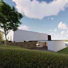 CASA LOBO E ALMEIDA: Moradias  por Jesus Correia Arquitecto