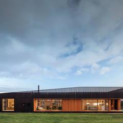 منزل خشبي تنفيذ Ecospace Italia srl, حداثي خشب Wood effect