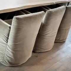 Privathaus in Kampen af Sylt:  Esszimmer von Home Staging Sylt GmbH
