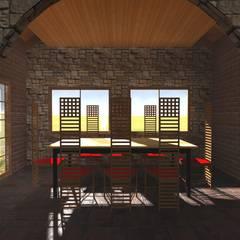 غرفة السفرة تنفيذ Vicente Espinoza M. - Arquitecto