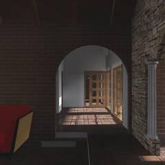 Vicente Espinoza M. - Arquitecto :  tarz Koridor ve Hol