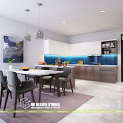 Nội thất phòng ăn:  Phòng ăn by UK DESIGN STUDIO - KIẾN TRÚC UK