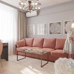 Комната для бабушки-рукодельницы: Рабочие кабинеты в . Автор – Елена Марченко
