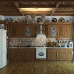 Country Kitchen: Кухни в . Автор – Борис Ступак