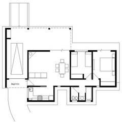 منزل ريفي تنفيذ arq5912  Arquitectura y Construcción