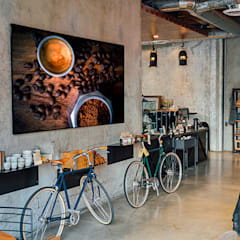Coffee: Locales gastronómicos de estilo  de TANGERINE WALL