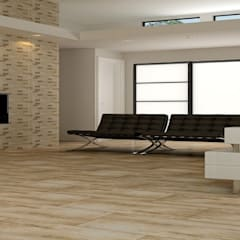 Pisos de estilo  por Tiles Carrelage Pvt. Ltd.