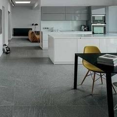 Porcelain Floor Tiles From india:  Dining room by Tiles Carrelage Pvt. Ltd.