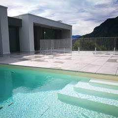 Garden Pool by luca pedrotti architetto