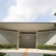 外観: 株式会社高野設計工房が手掛けた学校です。
