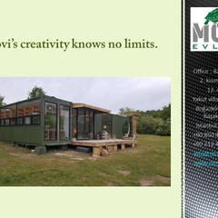 Casas pequeñas de estilo  de MOVİ evleri