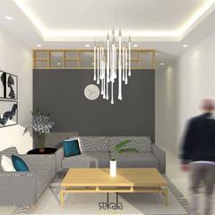 Desain Ruang Tamu (Guestroom Area):  Ruang Keluarga by SEKALA Studio