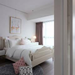 غرفة نوم تنفيذ 北歐制作室內設計