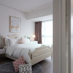 Bedroom by 北歐制作室內設計, Country