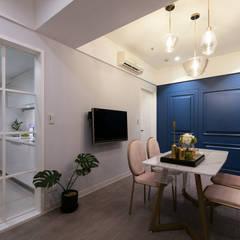 غرفة السفرة تنفيذ 北歐制作室內設計