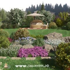 Дизайн частного участка г. Малый Петербург: Сады в . Автор – Сад Жизни