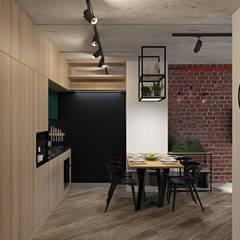 Einbauküche von E.KAZADAEVA. Interior design