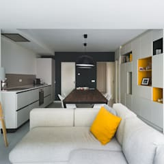 Koekoek:  Woonkamer door Kevin Veenhuizen Architects