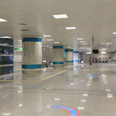 Industrial style airports by DESTONE YAPI MALZEMELERİ SAN. TİC. LTD. ŞTİ. Industrial