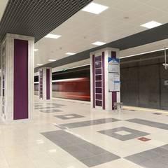 Aeropuertos de estilo  por DESTONE YAPI MALZEMELERİ SAN. TİC. LTD. ŞTİ. , Industrial