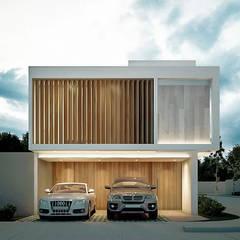 Casas unifamiliares de estilo  por COUTIÑO & PONCE ARQUITECTOS