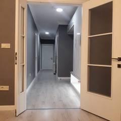 Evde Mimar – Yeni Ev Dekorasyonu:  tarz Koridor ve Hol, Modern