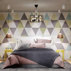 Kleine slaapkamer door MBM studio