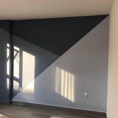 Remodelación de Condominio: Paredes de estilo  por SHADOW