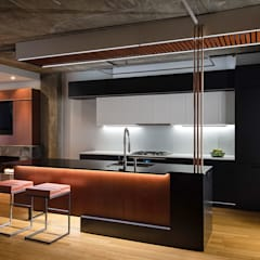 Church St:  Kitchen by KUBE Architecture