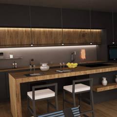 cucina villa 2: Cucina in stile  di Ing. Massimiliano Lusetti