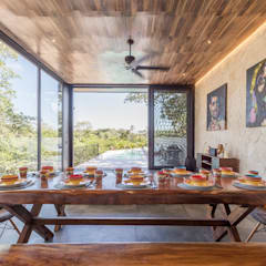 Dining room by Obed Clemente Arquitecto
