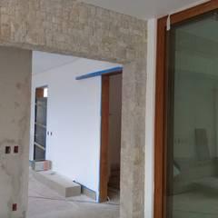 Terrace house by Atrium Vale Pedras e Projetos