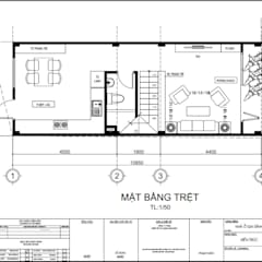Single family home by Công ty TNHH Thiết Kế Xây Dựng Song Phát