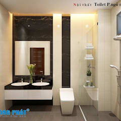 Modern bathroom by Công ty TNHH TK XD Song Phát Modern Solid Wood Multicolored
